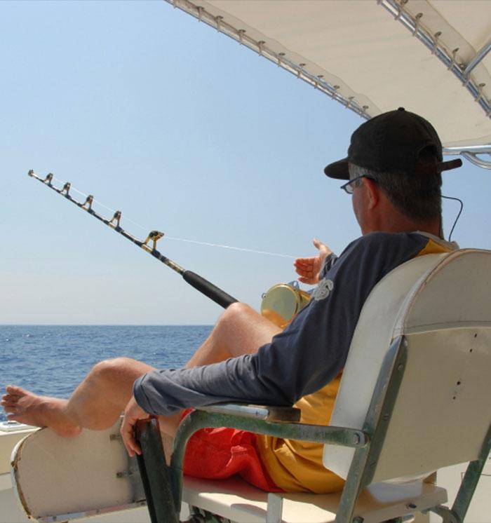 Sport Fishing Landing at California