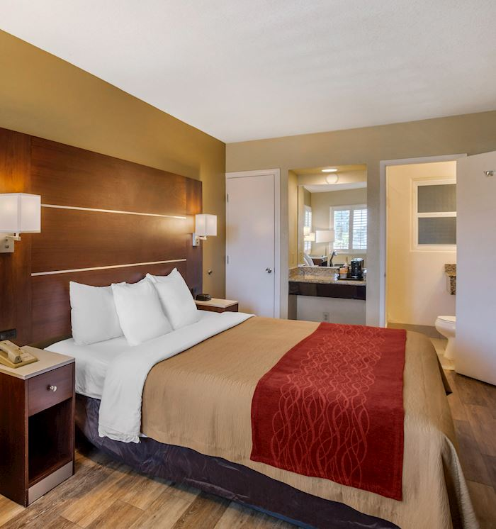 Comfort Inn San Diego Airport at the Harbor Non Smoking King Bed at San Diego